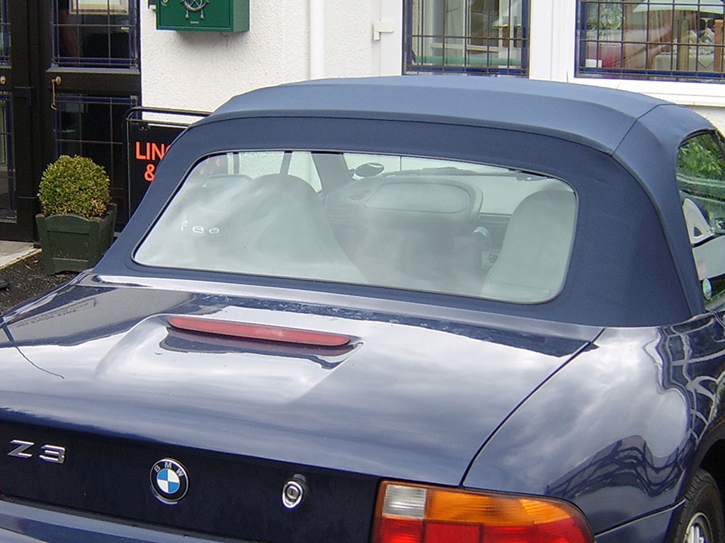 Soft Top Rear Window Replacement Norwich Norfolk Top